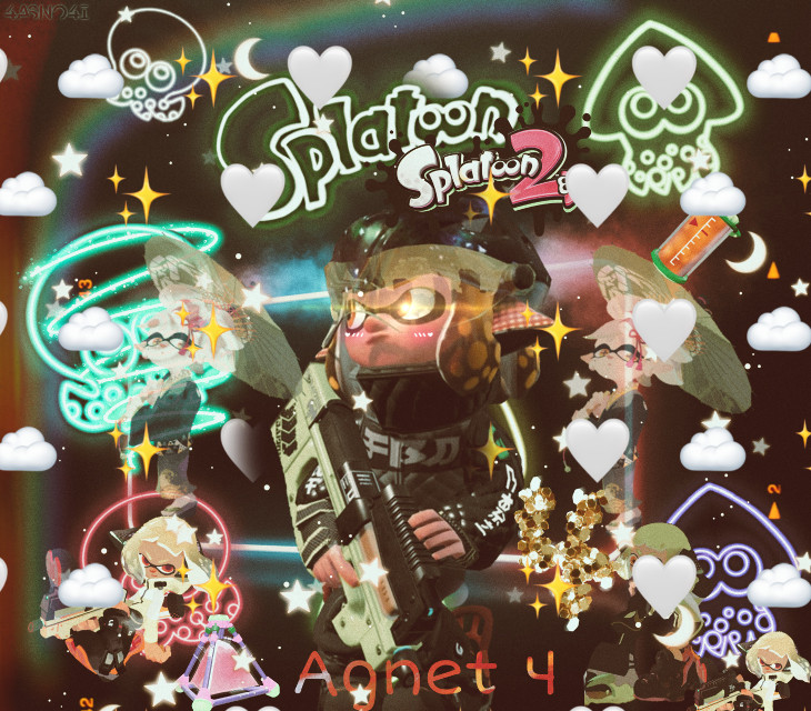#splatoon #agent4 #splatoon2 #inkling #inklinggirl  #squid #mariesquidsisters #mariesplatoon2 #mariesplatoon #ink