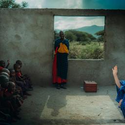 freetoedit maasai tanzania teacher education school