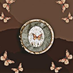 butterfly crystal logodesign logo