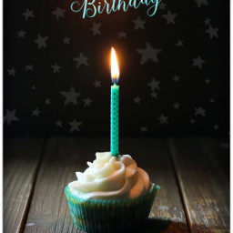 birthday happy happybirthday happybirthdaytome happybirthdaytoyou cupcake dessert stars birthdaycake candle fire icing sugar cyan teal aesthetic aestheticbirthday text words quotesandsayings quote sayings sweet cake wood freetoedit