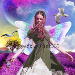 girl butterfly birds ircfashionpose fashionpose freetoedit