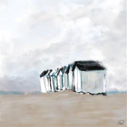 beachhouses mypainting