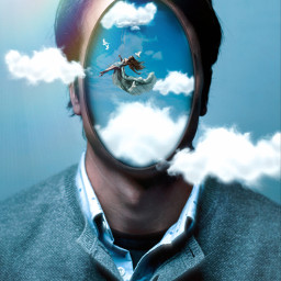 freetoedit manipulation madewithpicsart surrealism creative amazing clouds sky colochis89 happy colochis89