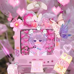 cute aesthetic kawaii pinkaesthetic pink freetoedit