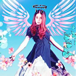 angel devil demon angelic ircfashionpose fashionpose freetoedit