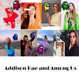 addisonrae amongus rainbow freetoedit