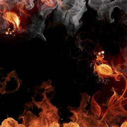 fire remix replay remixed replays interesting black red orange smoke dark picsart photography freetoedit art foryou colorful edit