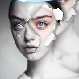 beauty model cloneeffect picsart picsartgirl remixme freetoedit