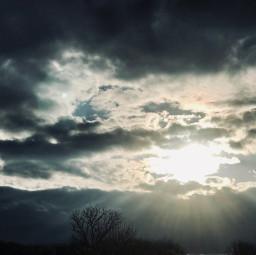 sunset sky cloudsandsky vibrantsky artist danalakat