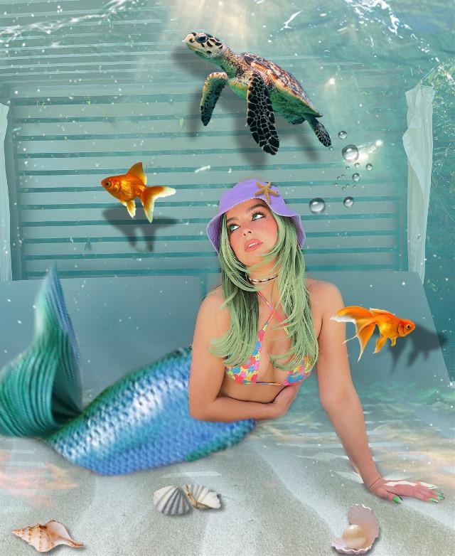 #remix #underwater #undersea #ocean #sea #mermaid #fish #aquatic #aquarium #nature