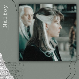 freetoedit narcissa malfoy green black