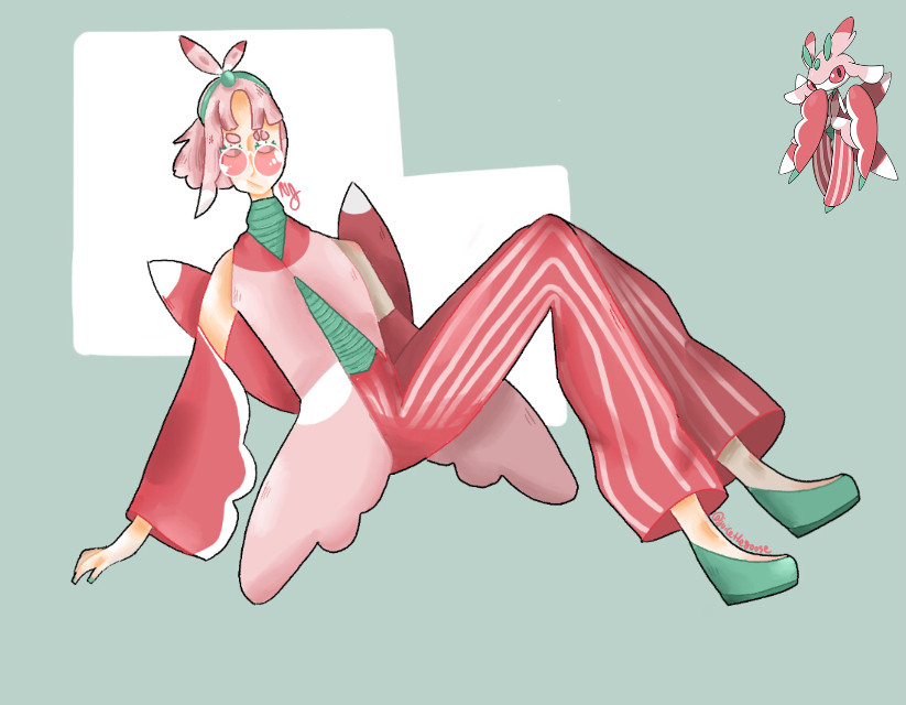 Humanized Lurantis!  This drawing goes out to the three people on this app in the pokemon fandom  Im in a pokemon phase again for literaly no reason lmao  Lurantis is probably my favorite pokemon next to Appletun and Decidueye  ALSO dtiys results will come out tonight, so look forwards to that  Have a great afternoon/morning/evening!   #pokemon #pokemonfanart #lurantis #humanized #humanizedpokemon #lurantisfanart #fanart #art #drawing #digitalart