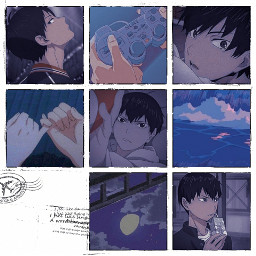 kageyama haiku bluecollage