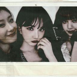 freetoedit eunha chaeryeong lisa gfriend itzy blackpink manips roleplayer kpop