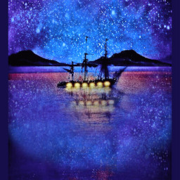 freetoedit anchored nightsky safeharbor skyview starrysky brilliantblue storybookart remixedbyme