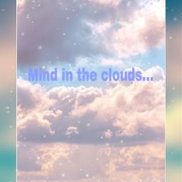 aesthetic editedbyme edit cute cloudy clouds freetoedit