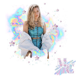 hologram mc mileycyrus miley cyrus music wreakingball white hologramedit pink blue holographic star stars hologrameffect freetoedit