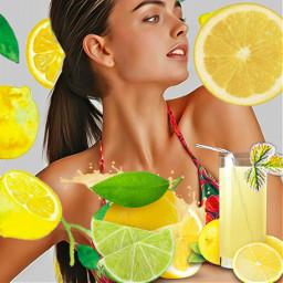 lemon lemonjuice bikini glas ecdeliciousbackgrounds deliciousbackgrounds freetoedit