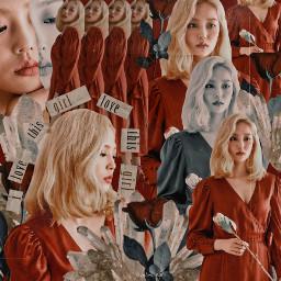 yeeun kpop aesthetic collage volente926 spreadkindness redaesthetic blackandwhite freetoedit