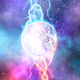 planet fire electric lightning galaxy water stars space outterspace starsbackground background galaxybackground aesthetic aestheticbackground purplegalaxy blueaesthetic pinkaesthetic galaxyaesthetic moon electricity sky night nightsky galaxies bluegalaxy freetoedit
