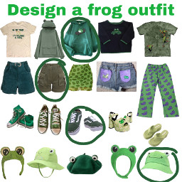 designaoutfit frogs freetoedit