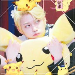 felixlee felix cute pikachuuuu aegyo freetoedit