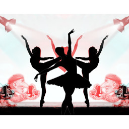 kolaż collage artcollage collageoftheday collageartwork collagework baletnica ballerina freetoedit ircballerinesilhouette ballerinesilhouette