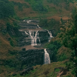 srilanka devonwaterfall waterfall lvnature freetoedit