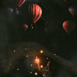 night fantasy glow dream edit 365world freetoedit