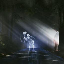 night spooky nightmare edit freetoedit