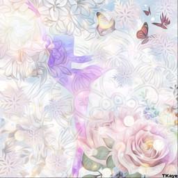 ballerina dancer shilouette pink purple blue blend mandala roses butterflies butterfly snowflakes flowers clouds madebyme madewithpicsart loveit ircballerinesilhouette ballerinesilhouette freetoedit