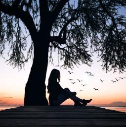 remix mypic sea sunset freetoedit