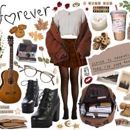 clothes outfit fall spring niche skirt aesthetic vsco tiktok tumblr grunge soft softgirl girl inspo freetoedit