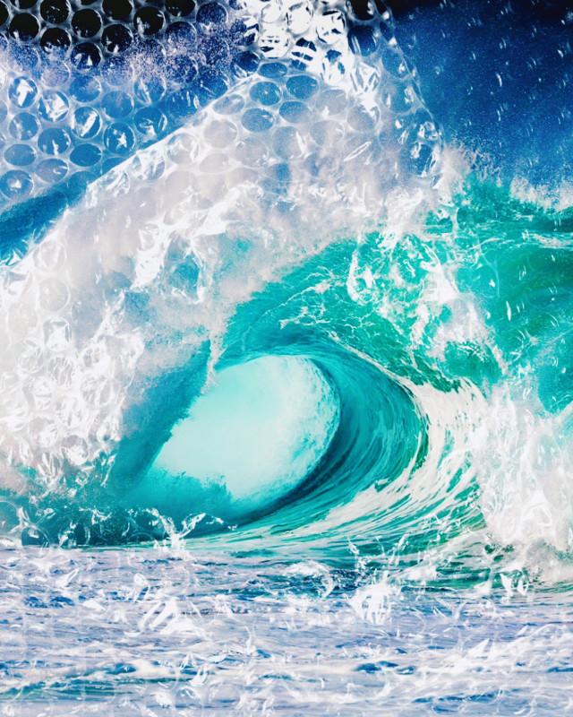 #bubblewrap #bubblewrapchallange ##wage #blue #turquoise #ocean #sea #teal #surf #summer #seafoam #splash