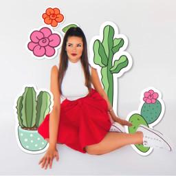 freetoedit juliette juliettebbb juliettefreire cactus cactos cacto cacti bigbrotherbrasil bbb21