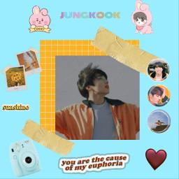 jungkook bts jungkookbts euphoria cooky freetoedit