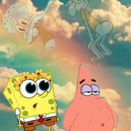 spongebob freetoedit