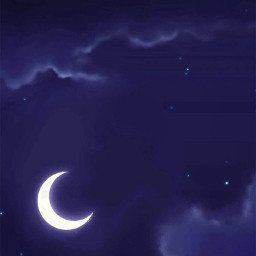 fondosdepantalla nocturno luna nubes anime manga otakus oraku otakugirl otakuboy otakuforever
