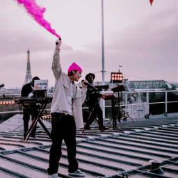 pink rosa paris france travel photography justinbieber justinbieberedits bieber music pop humo smoke freetoedit