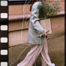 aesthetic art flower polaroid film style streetstyle freetoedit