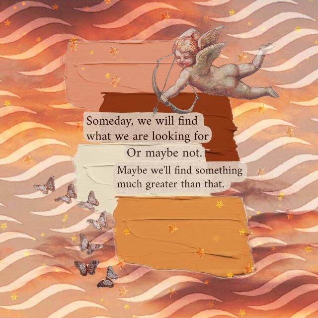 #quote #quoteaesthetic #cherub #cupid #butterfly #butterflied #painstroke #paintsticker #stars #gold #stickers #overlay #picsart #freetoedit @picsart @fretoedit #myedit #myoriginaledit #interesting #clouds #cloudysky #orange #orangeaesthetic #journal #vintage