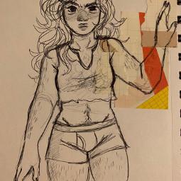 supernatural sketch sketchbook