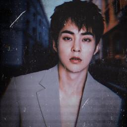 xiumin exo edit freetoedit