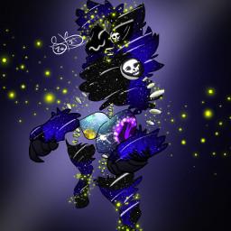 newoc skullstarr fireflies myoc firstprotogen protogen digitalart silverbulletsart