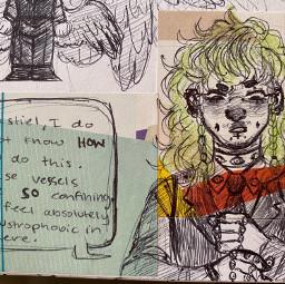 sketch sketchbook characterdesign