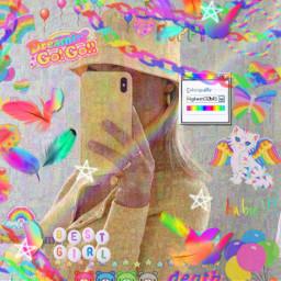rainbowcore freetoedit