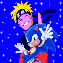 picsartedit edit naruto sonic ninja hedgehog blueblur bluehedgehog hero legend saskuesrival shadowsrival freetoedit