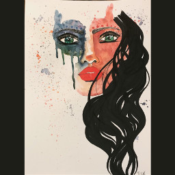 art painting portrait artist danalakat