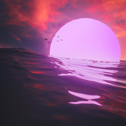picsart freetoedit remixit sunset sunrise sun clouds glow sky stars night moody dark light color background view png silhouette travel rocketship spaceship galaxy waterfall hike