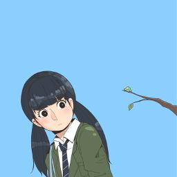 drawing girl earthday freetoedit